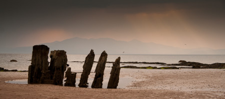 Wreck - Seamill, Ardrossan. Landscape Photography